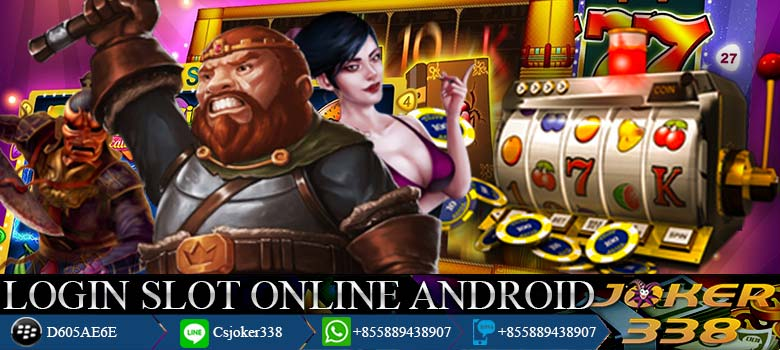 Login-Slot-Online-Android